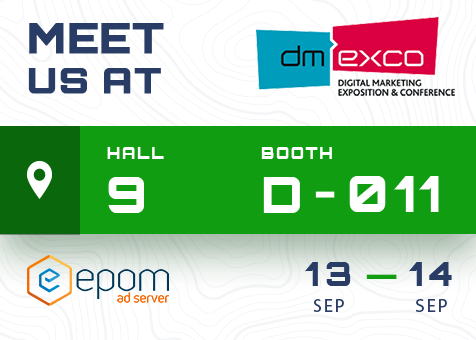 Join Epom at DMEXCO