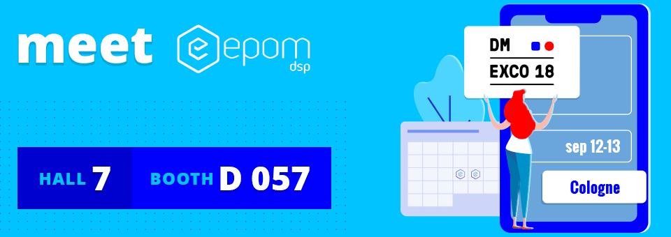 Meet the Epom team at DMEXCO 2018