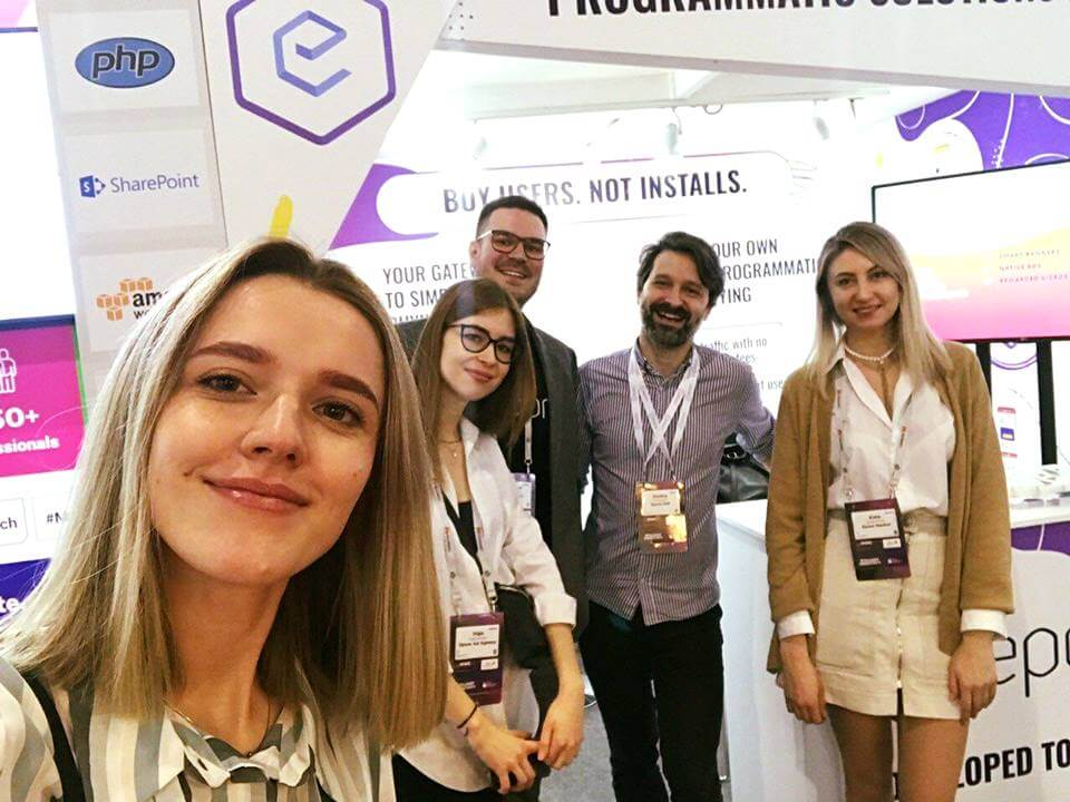 Epom DSP team exhibiting at MWC 2019 in Barcelona